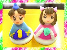 ひなまつりケーキ5号☆ひな飾り&ひなBOX