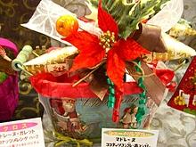 クリスマスラッピングギフト2016☆ブリキ製小物入れ&ワイヤーバスケット