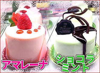 春夏限定ケーキ2017☆≪ショコラミント≫≪アマレーナ≫