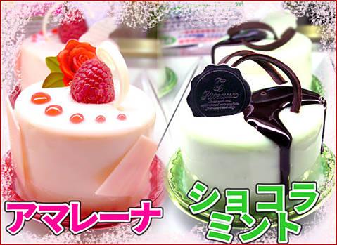 春夏限定ケーキ2017☆ショコラミント&アマレーナ