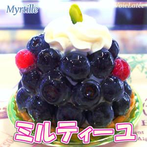 夏限定ケーキ2017☆ミルティーユ