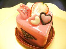 ≪プチハートケーキ≫2015☆チョコレート&ストロベリー&ホワイト