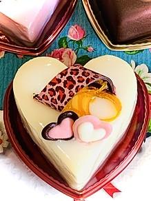 プチハートケーキ☆ブラン