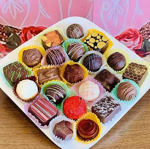 22種のトリュフチョコレート☆令和元年